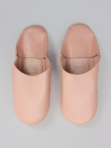 Chaussons Babouche - Rose