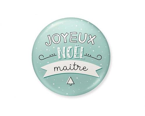 """Magnet """"Joyeux Noël Maître"""""""