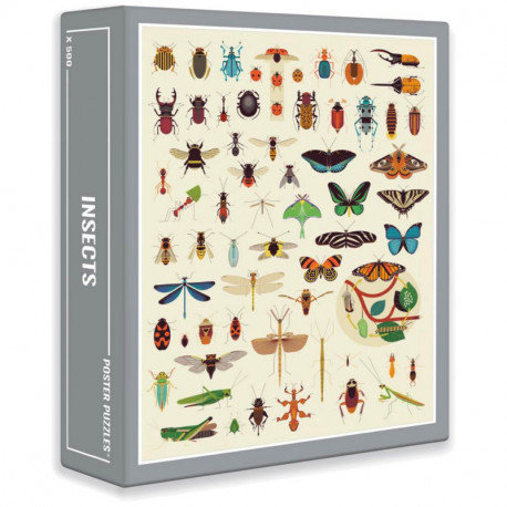 Puzzle - Insectes
