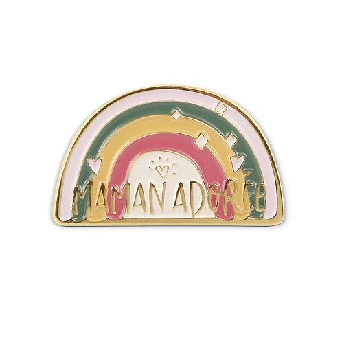 Pin's émaillé - Maman Adorée