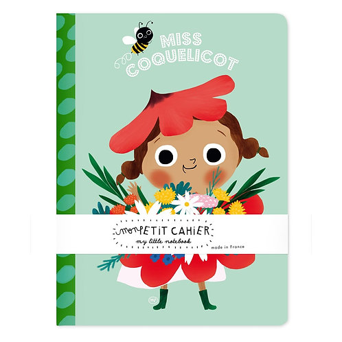Cahier Miss Coquelicot