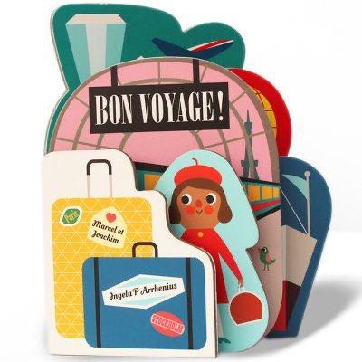 Livre tout carton - Bon Voyage
