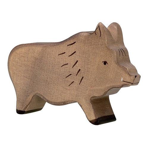 Figurine en bois - Sanglier