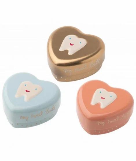 Boîte à dents de lait - Cœur