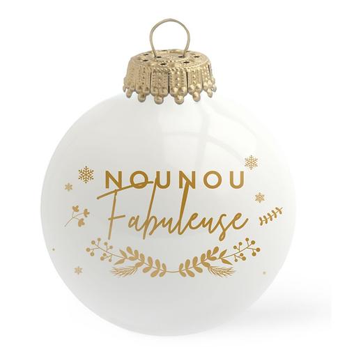 Boule de Noël - Nounou Fabuleuse