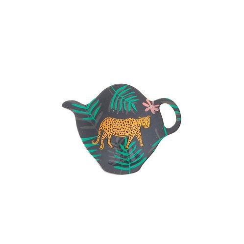 Coupelle à thé - Léopard