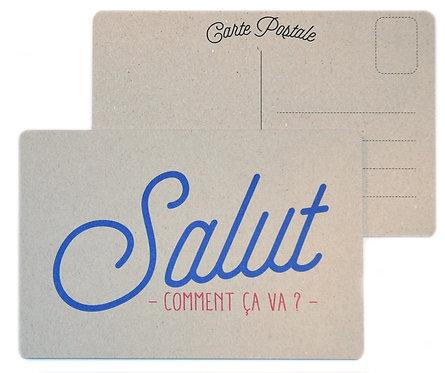 Carte Salut