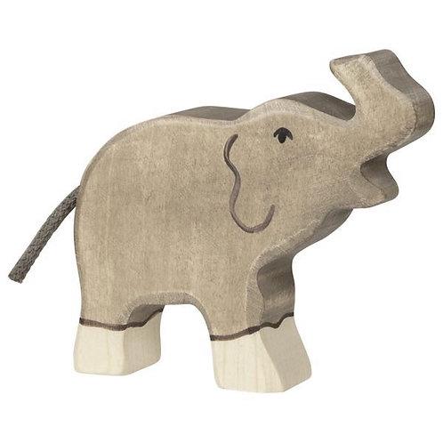 Figurine en bois - Éléphanteau
