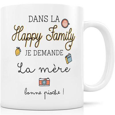 Mug Happy Family - La mère