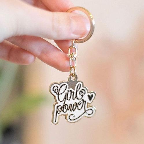 Porte Clés - Girl power