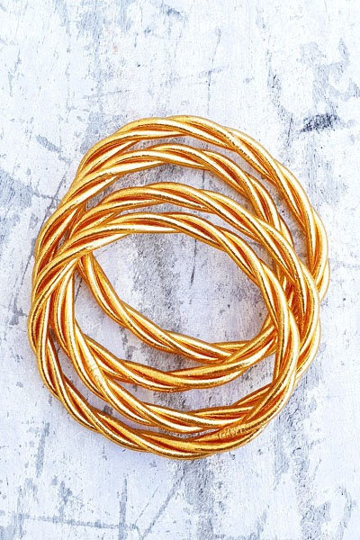 Jonc Tibétain - Classic Gold Twisted