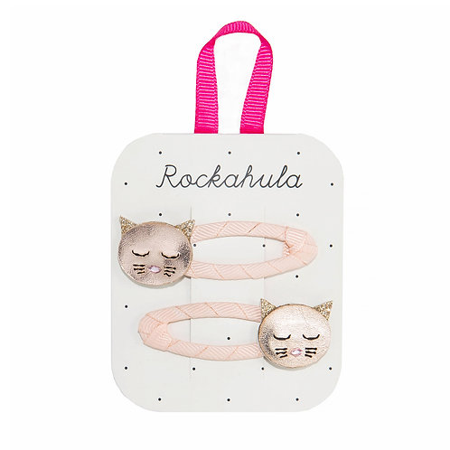 Barrettes Clips - Chat
