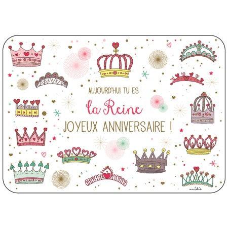 Carte - La Reine