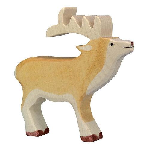 Figurine en bois - Cerf