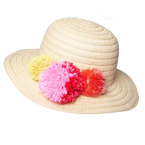 Chapeau Pompons