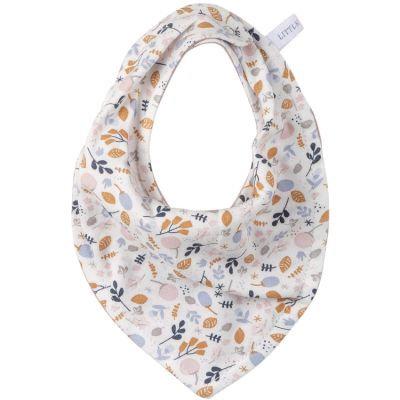 Bavoir bandana - Fleurs