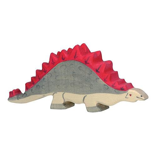 Figurine en bois - Stégosaure