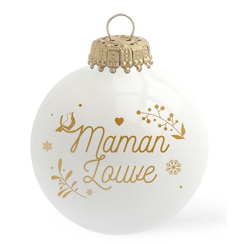 Boule de Noël - Maman Louve