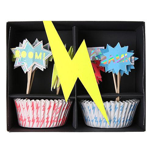Kit cupcake Super Héro