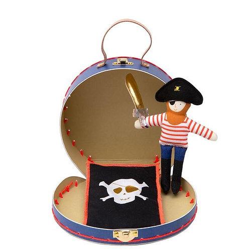 Valise Mini Poupée - Pirate