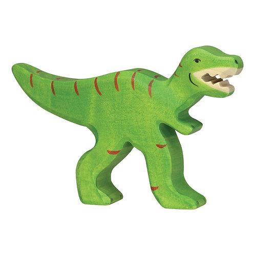 Figurine en bois - Tyrannosaure Rex