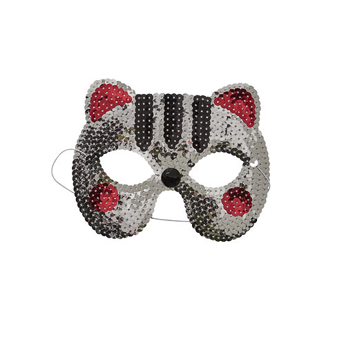Masque sequin Chat