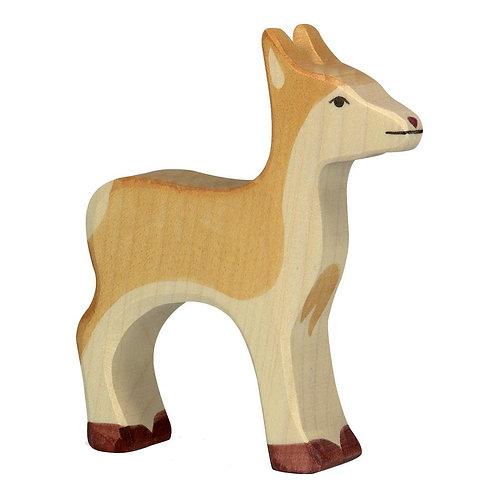 Figurine en bois - Biche