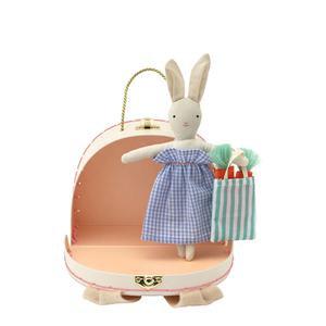 Valise Mini Poupée - Lapin