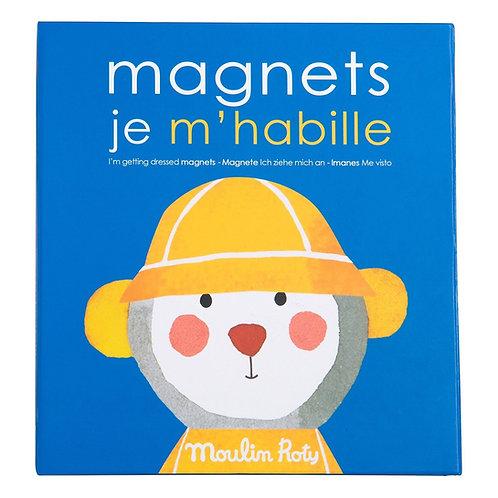 Les Popipop - Magnets je m'habille