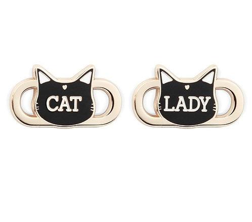 Lace Locks - Cat Lady