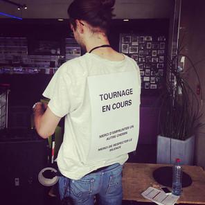 """Tournage du film """"La Vie Poétique"""" au Luxembourg"""