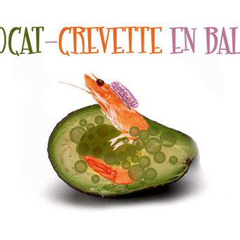 "ON S'EN FOOD ! Série ""avocat-crevette"" #1.3"