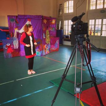 Actu de la rentrée : Captation dans une école primaire !