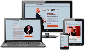 Webdesign du site de Pascal Fleury !