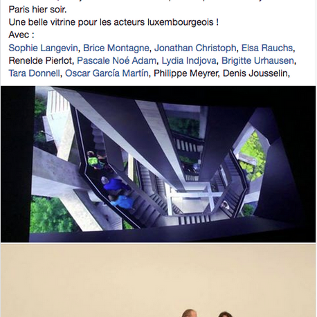 Projection Parisienne de l'État Poétique le 23 mai 2018