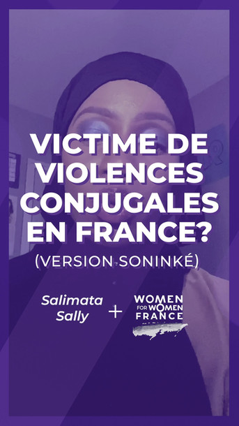 IL EST URGENT D'AIDER LES VICTIMES DE VIOLENCES CONJUGALES !
