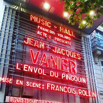Succès à l'Olympia pour Jean-Jacques Vanier !