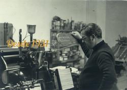 Imprenta antiga-TIO RICARDO CAST