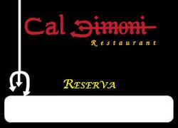 CalDimoni reserva