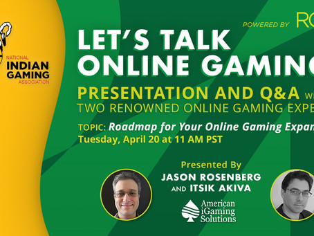 AiS to Collaborate with RG24seven and NIGA for Online Gaming Webinar