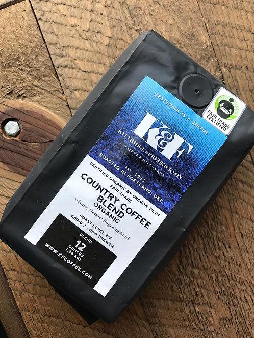 12oz - Organic CC Blend Coffee Beans