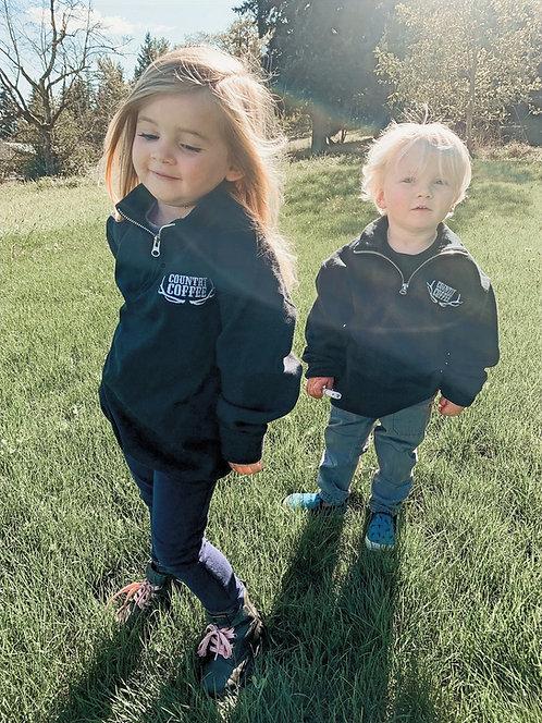 Kids Quarter Zip Sweatshirt