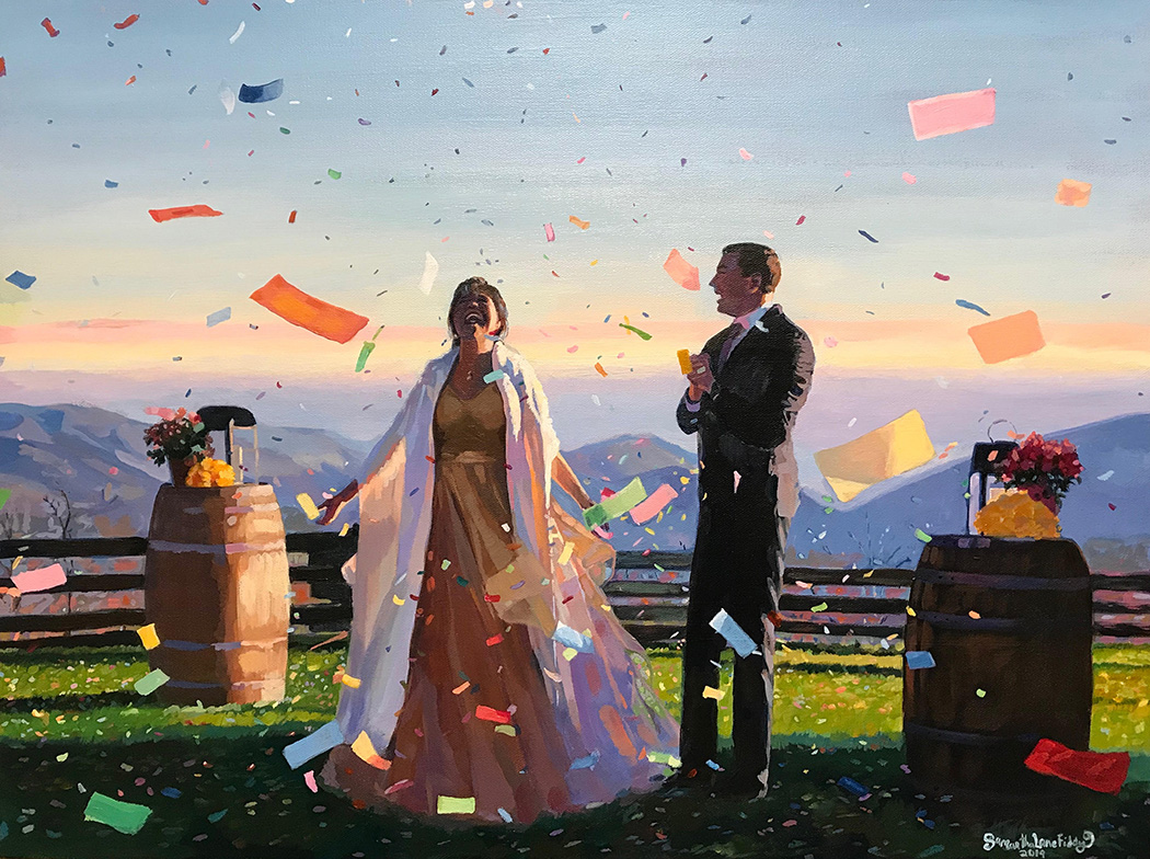 Wedding Gift Commission 2019