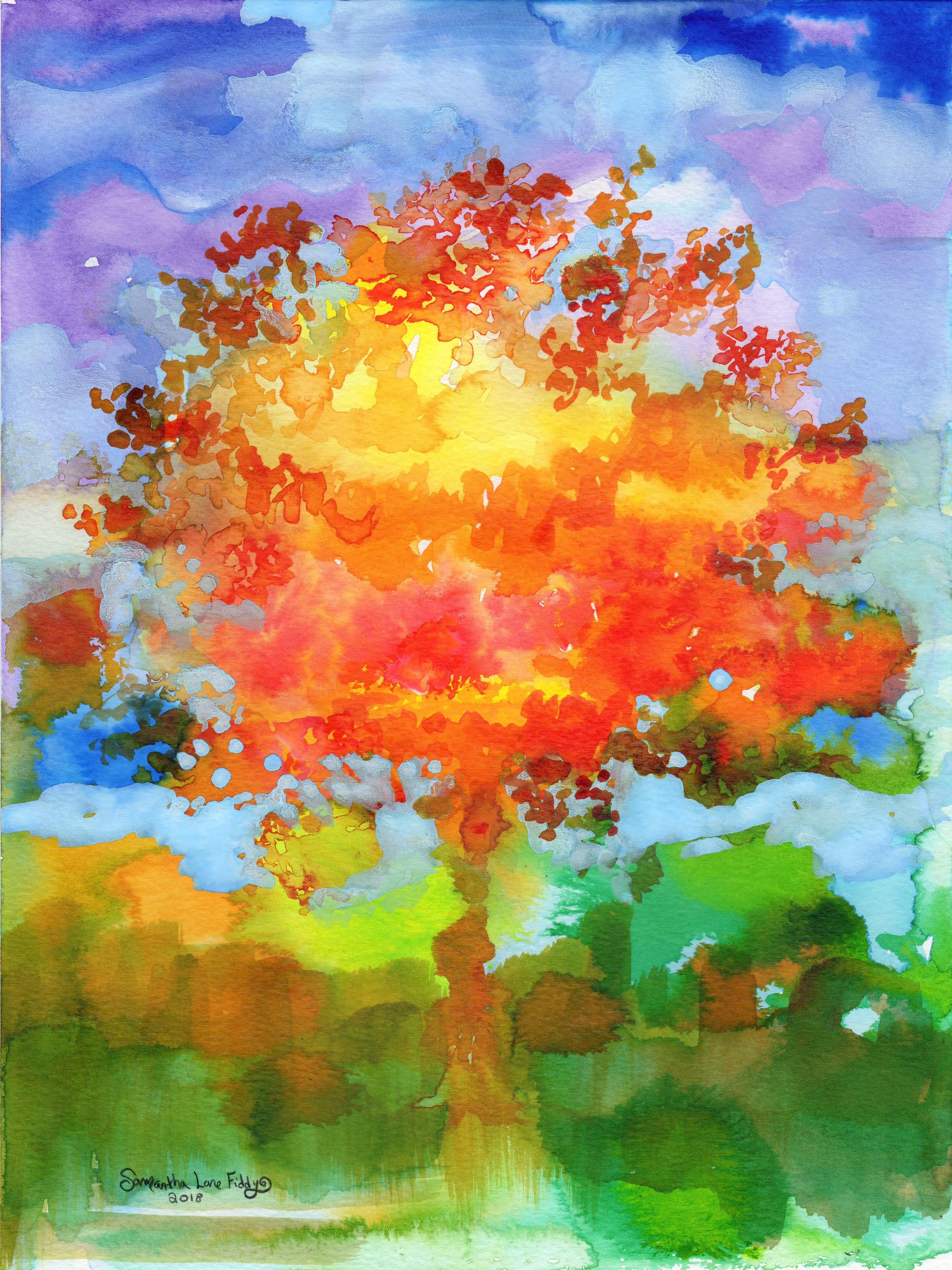 October Tree 2018