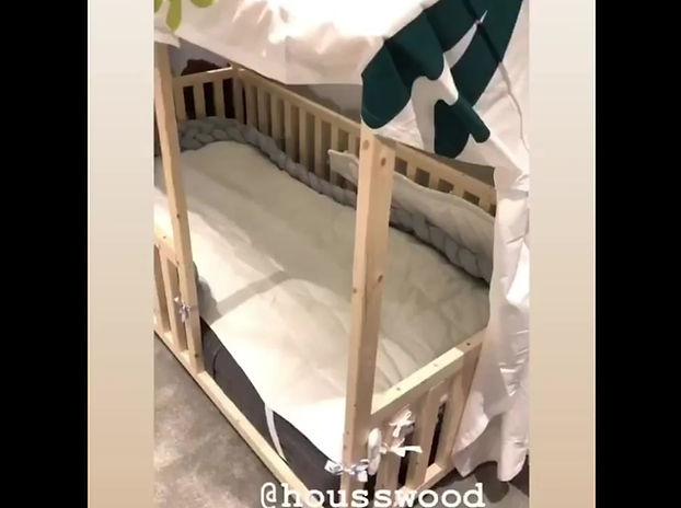 Alexia Mori et le lit cabane Housswood