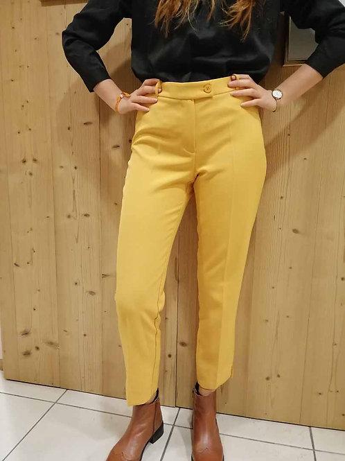 Pantalon Liverpool moutarde