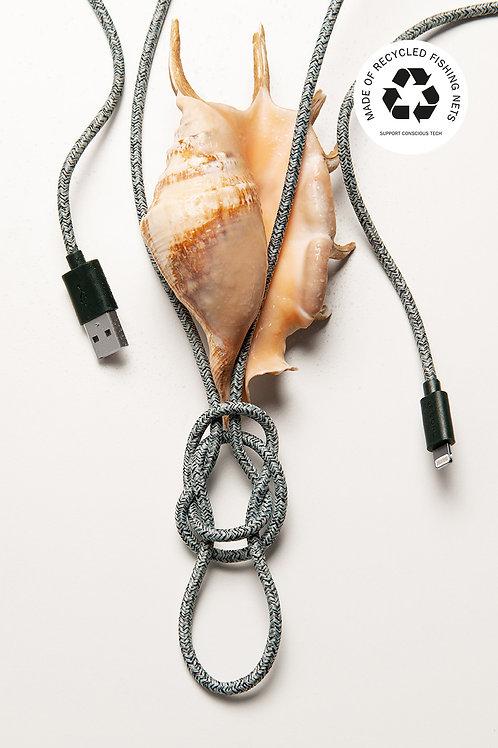 Ghost Net - Le Cord - Câble pour iPhone en matériaux recyclé