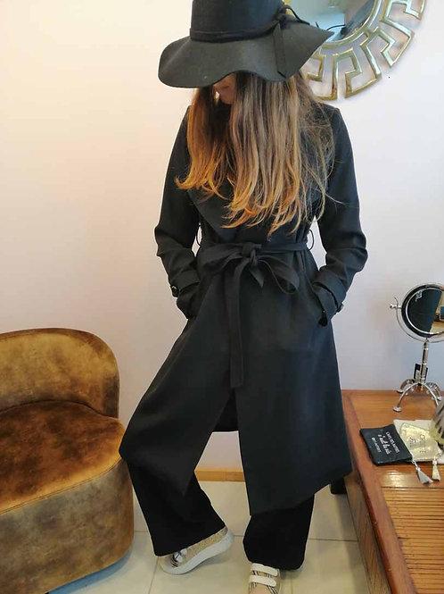 Manteau Lady Noir mi saison