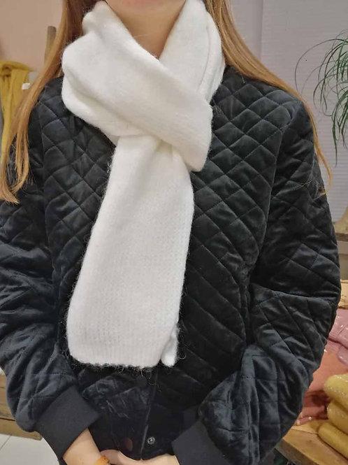 Echarpe douceur blanche