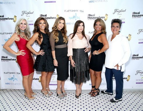 Real Housewives of New Jersey Premiere Party at Molos Restaurant in Weehawken NJ